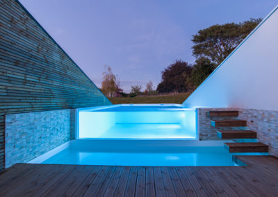 piscine transparente