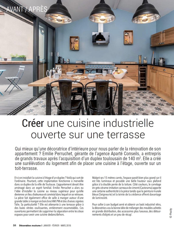 Photographies D Intérieur Cuisine Industrielle à Toulouse
