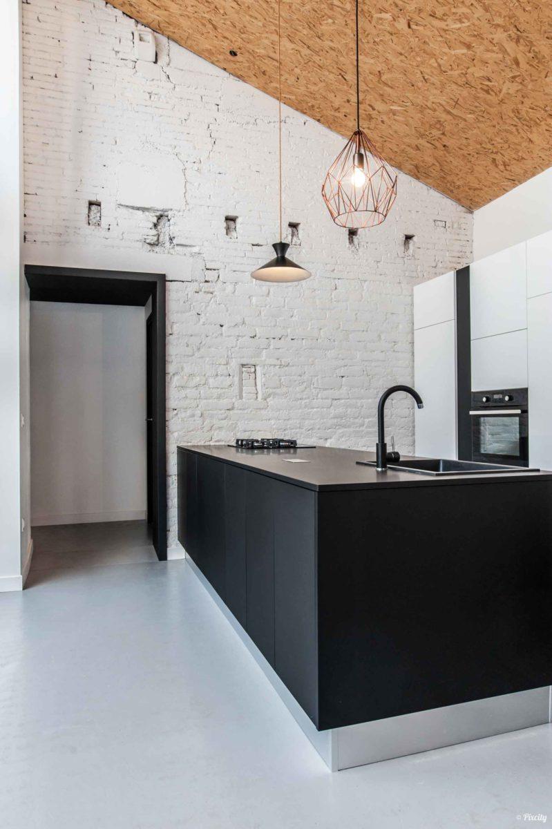 cuisine meuble noir