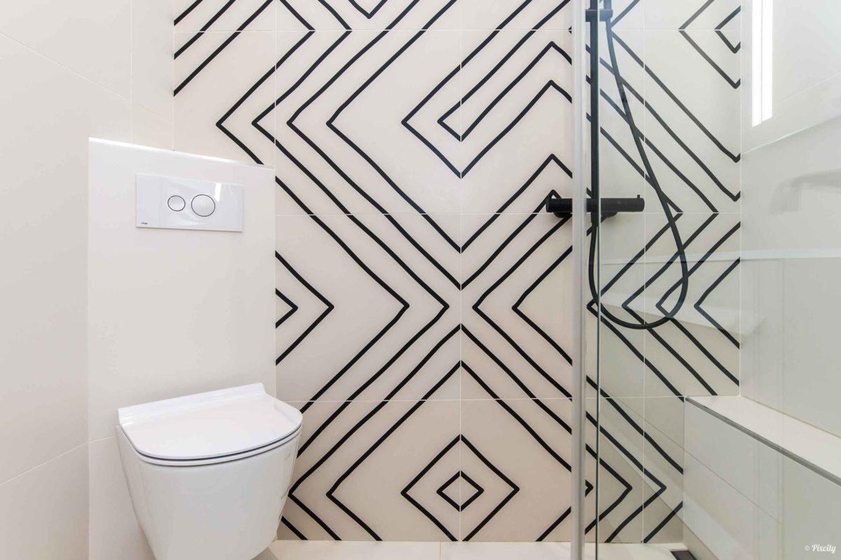 petite salle de douche