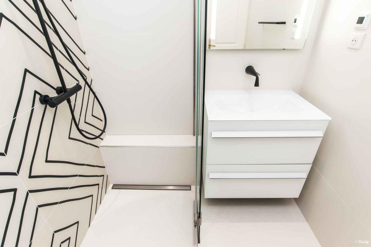 modele petite salle de bain