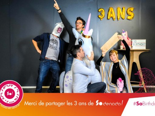 Photo booth 3ans Sodenada – 31670 Labège