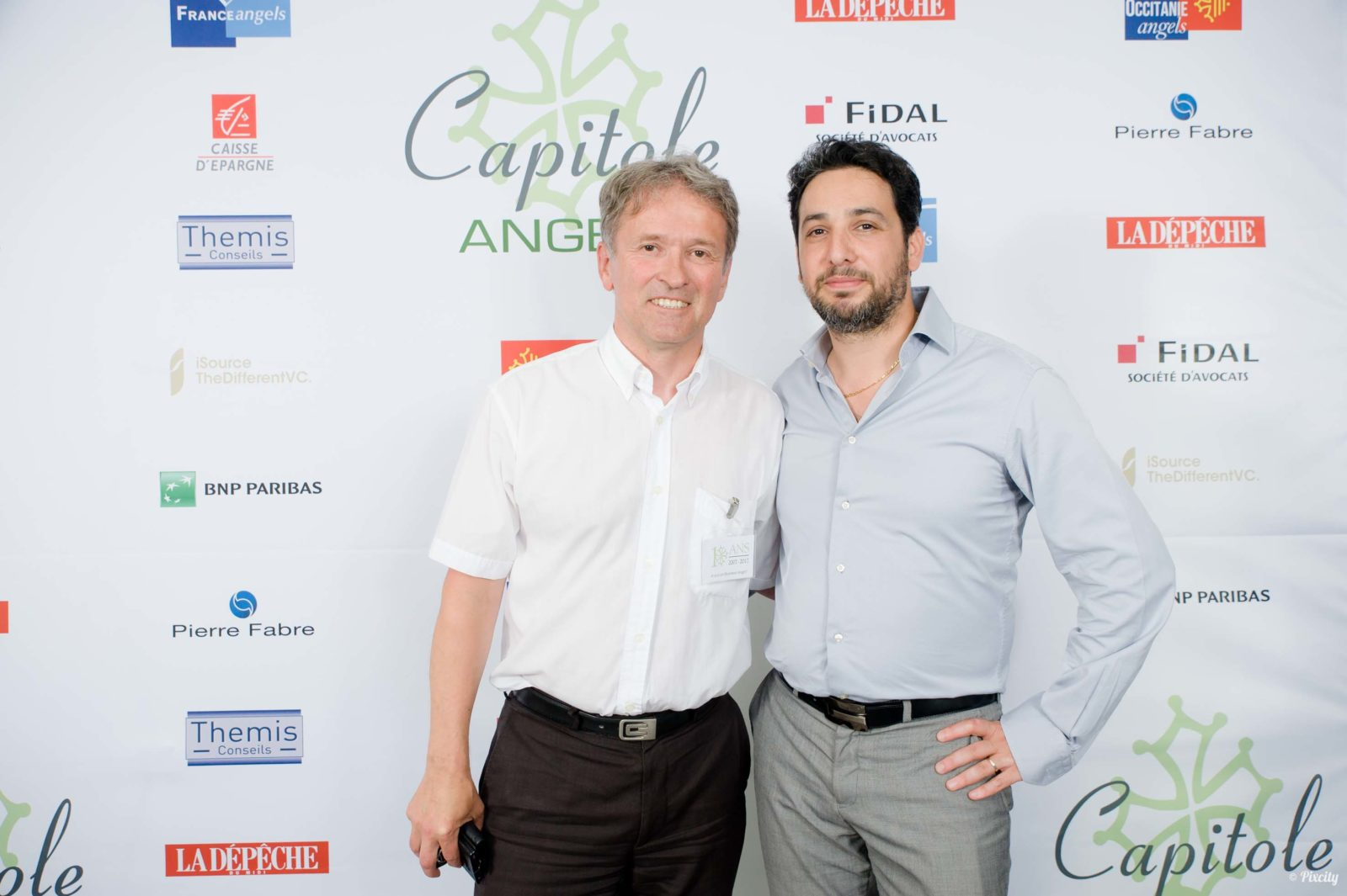Photocall Capitole Angels
