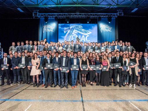 Photographies de la remise des diplômes de l'Enac