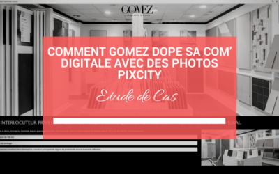 Comment Gomez dope sa com' digitale avec des photos Pixcity