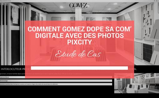 Comment Gomez dope sa com' digitale avec des photos Pixcity