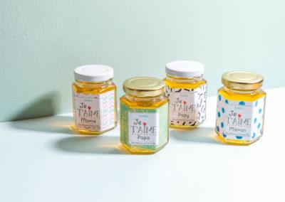 Shooting des petits pots de miel Beely